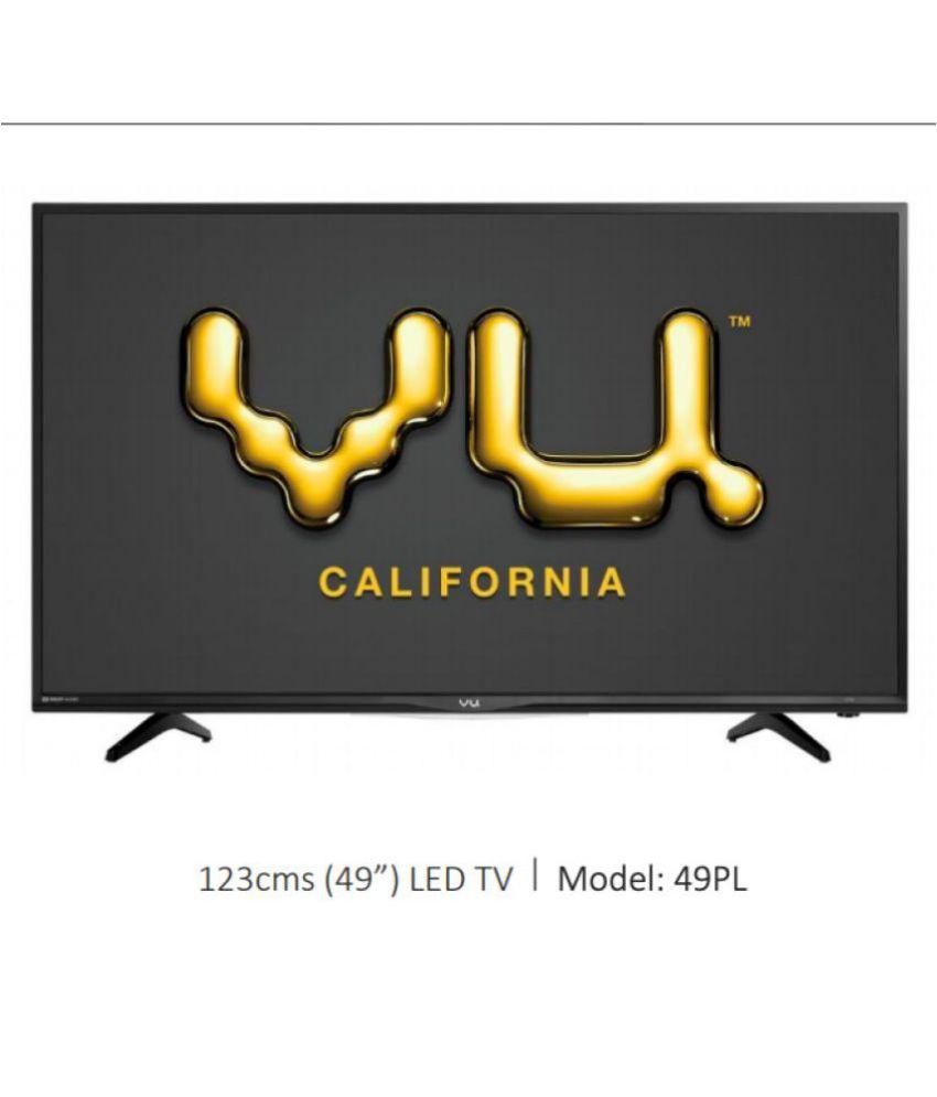 Vu 49PL 123 cm ( 49 ) Full HD (FHD) LED Television