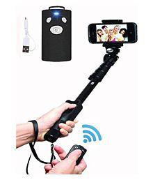 HMFURRYS FINEST Black Bluetooth Monopod - 125 cm