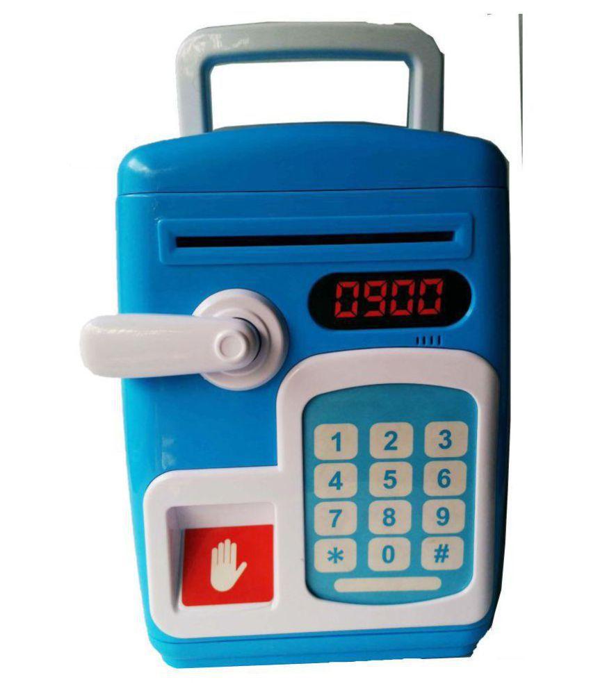Fingerprint Sensing Money Saving Bank Toy