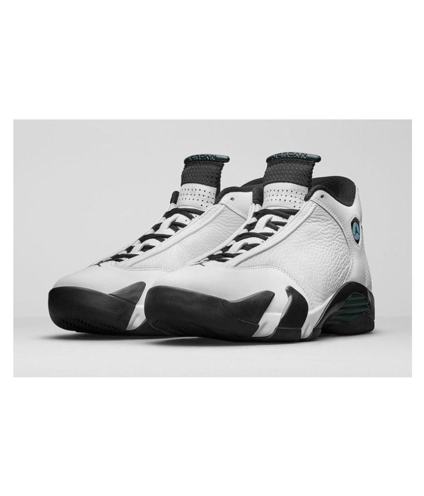 finest selection 2771f 3dc01 Nike Air Jordan 14 Midankle Male White  Buy Online at Best Price on Snapdeal