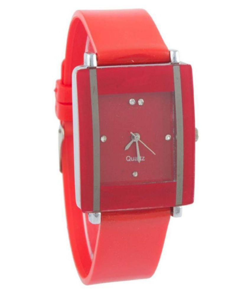 harm Plastic Square Womens Watch
