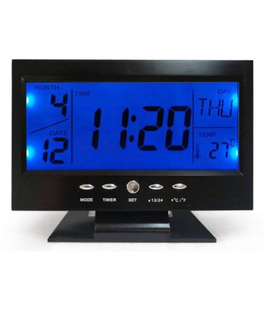 Euros Digital Digital Voice Control Back-Light LCD Alarm Clock - Pack of 1
