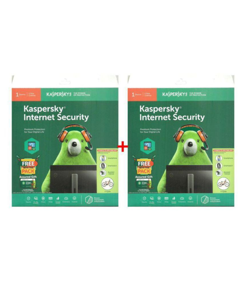 Kaspersky Internet Security 2019 ( 2 PC / 1 Year ) - CD
