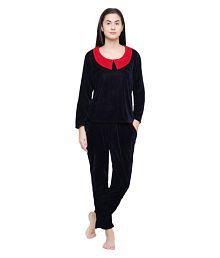ae61d54acf Velvet Sleepwear: Buy Velvet Sleepwear for Women Online at Low ...