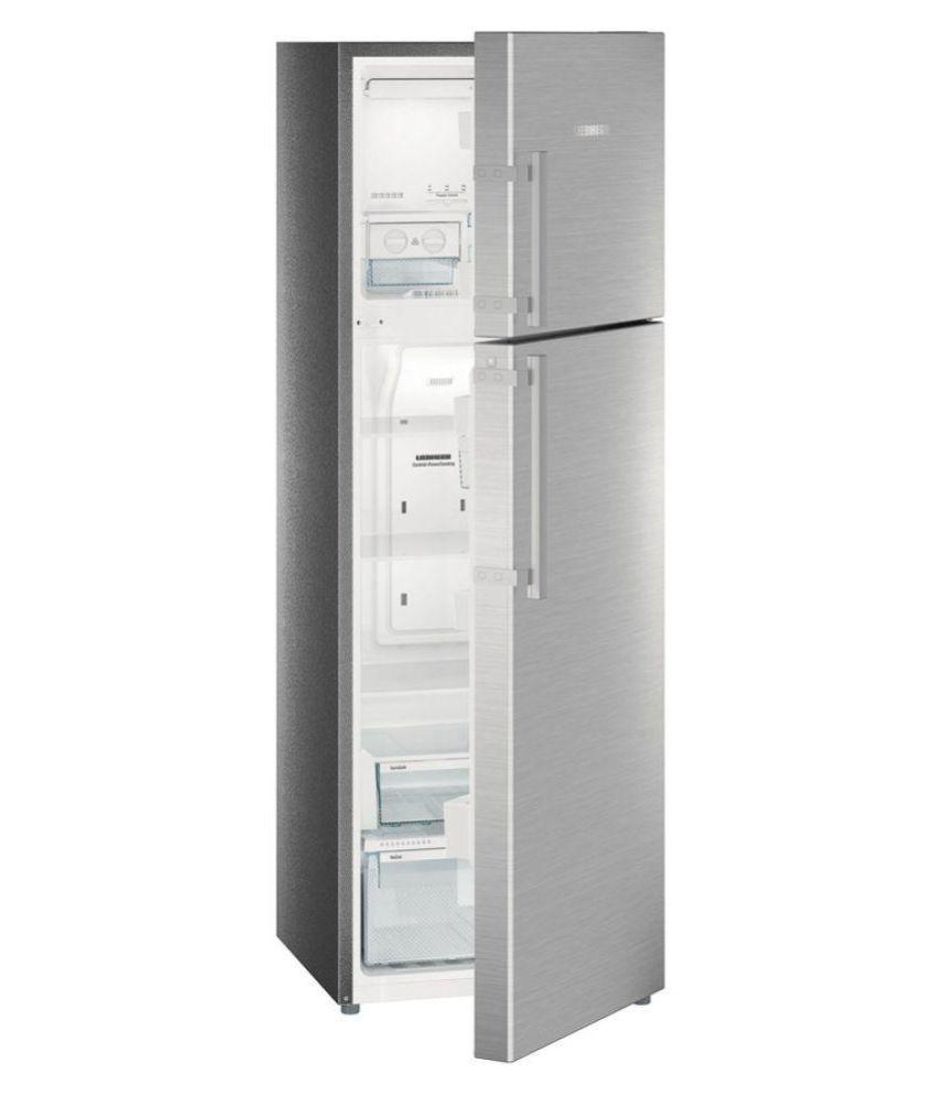 LIEBHERR 346 Ltr 4 Star TCSS3540-20 Double Door Refrigerator - Silver