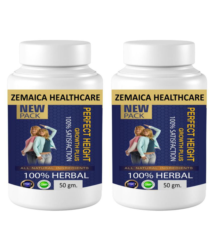 Zemaica Healthcare Perfect Height For Height Gain Capsule 60 no.s Pack Of 2