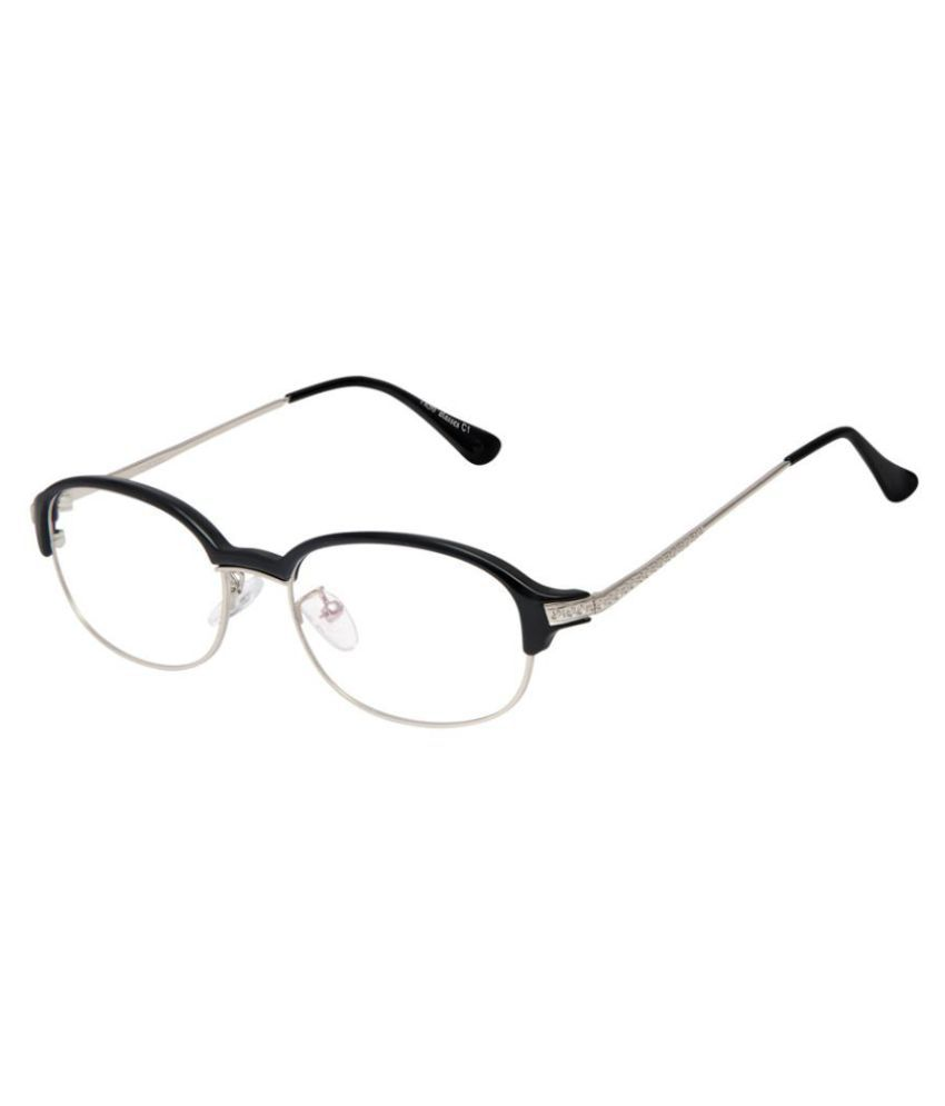 Cardon Silver Oval Spectacle Frame 9001