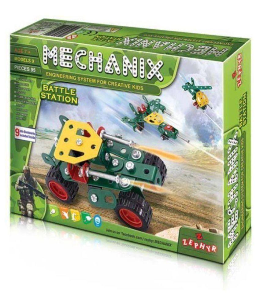 Metal Mechanix Battle Station  1