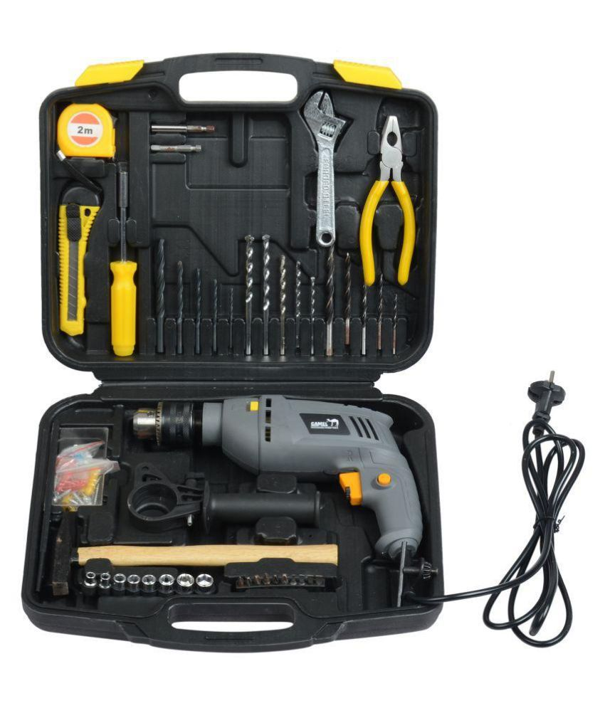 Camel 13mm 850W Impact Drill Machine Tool Kit/Box With ...