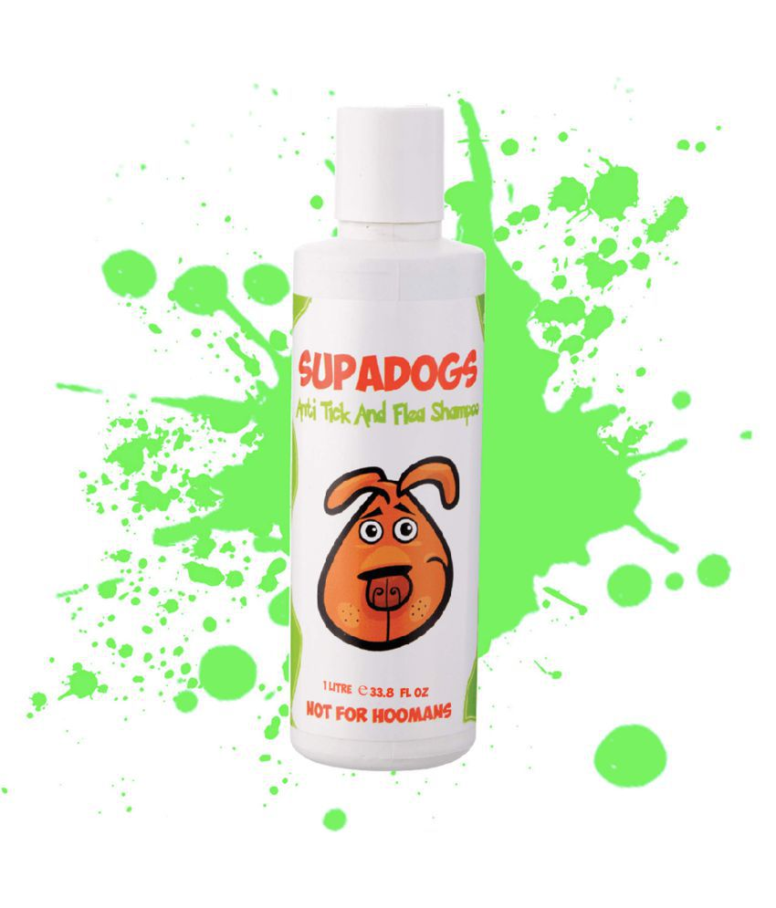 Supadogs Anti Tick & Flea Dog Shampoo 1L