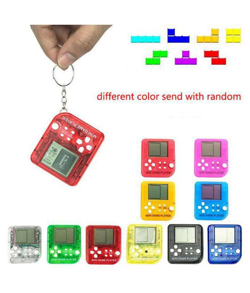 Mini Portable Tetris Classic Toy Game Electoric Machine Toy
