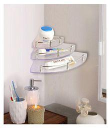 bathroom shelves buy bathroom shelves online at best prices in rh snapdeal com
