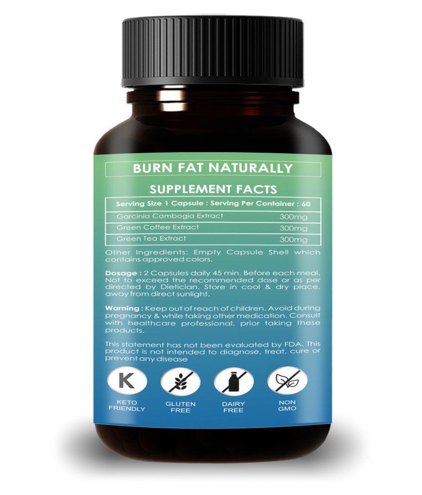 Farganic Keto Capsules Weight Loss Supplement Natural Advanced Fat Burner Green Tea Extract 300 Mg Garcinia Cambogia Extract 300 Mg 60 Capsules