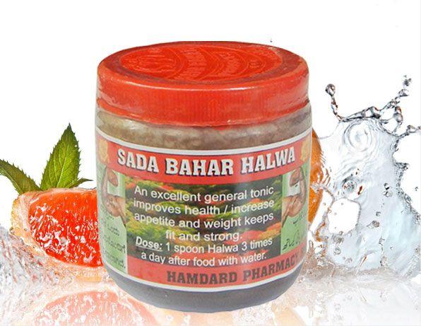Sada Bahar Herbal Health Tone Weight Gain Powder 70g 3 Pack 3 gm Unflavoured Pack of 3