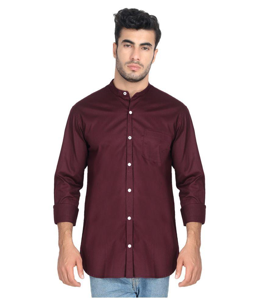 JOHN & JACKSON Cotton Blend Shirt