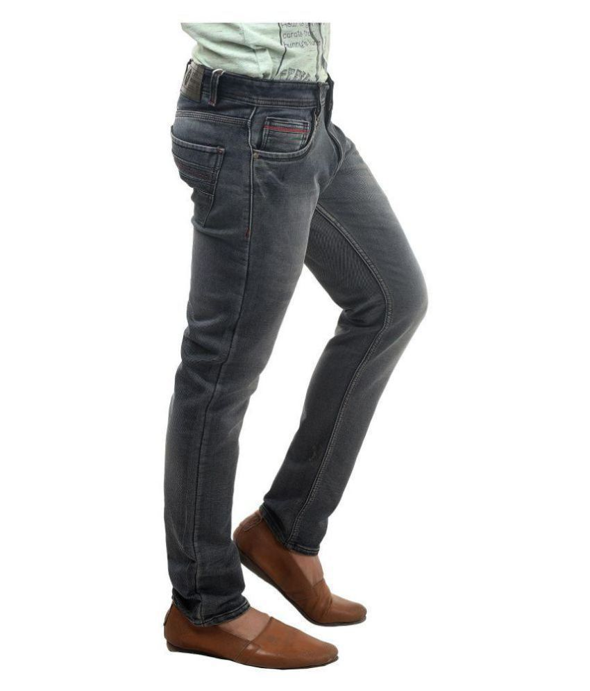 Reckwood Grey Slim Jeans