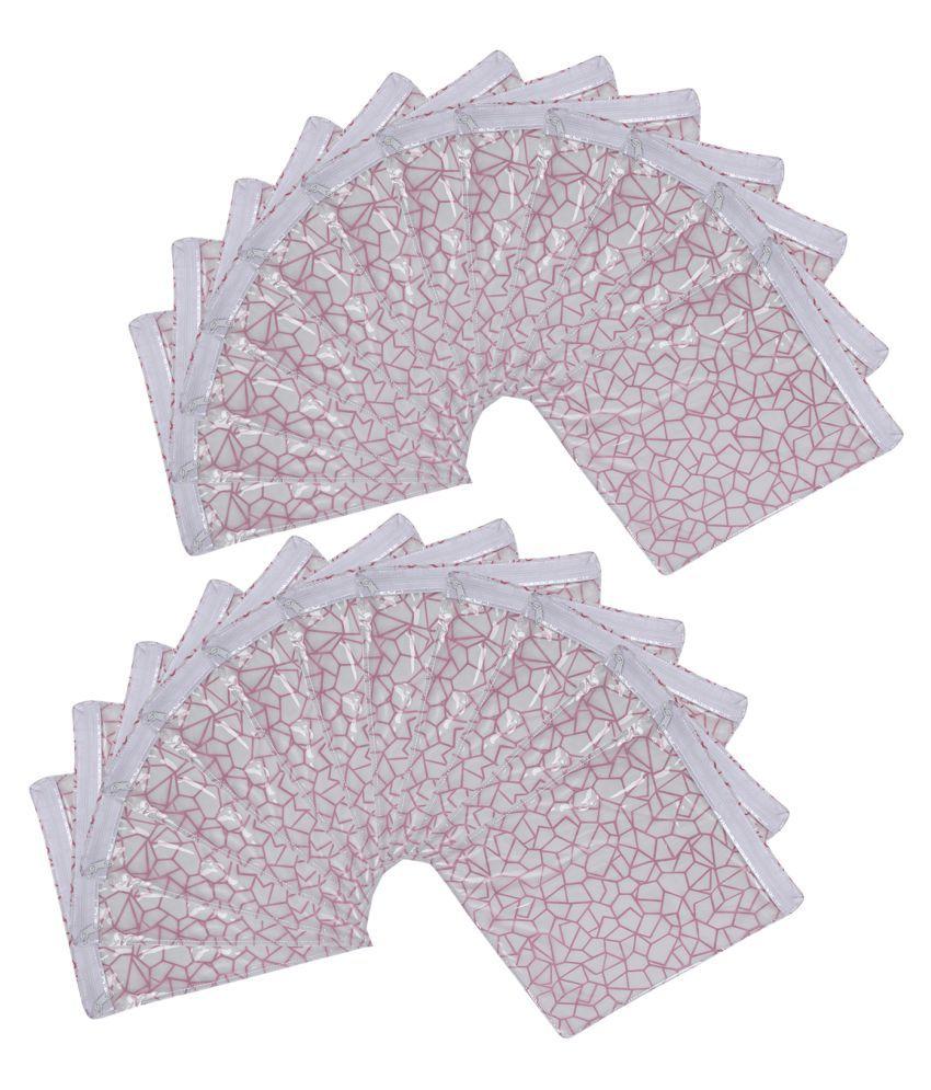 Aashi Pink Saree Covers - 24 Pcs