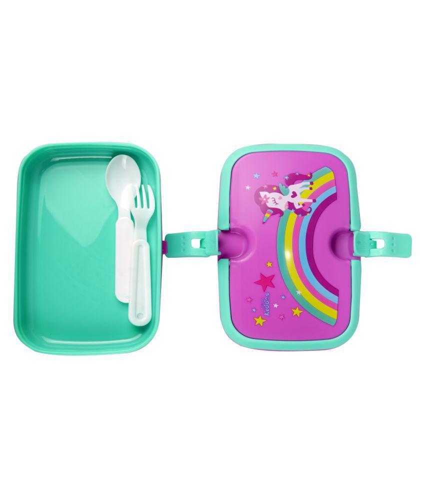 Smily kiddos | Smily Unicorn Lunch Box (Purple)