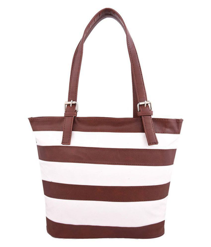 Fiona Trends Brown Pure Leather Shoulder Bag