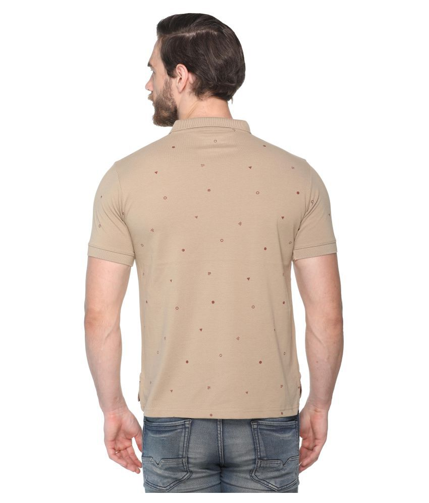 2c92ab4fd51c Colors And Blends Beige Regular Fit Polo T Shirt - Buy Colors And ...