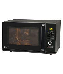 LG 27 to 32 Litres LTR MC3286BLT Convection Microwave Black