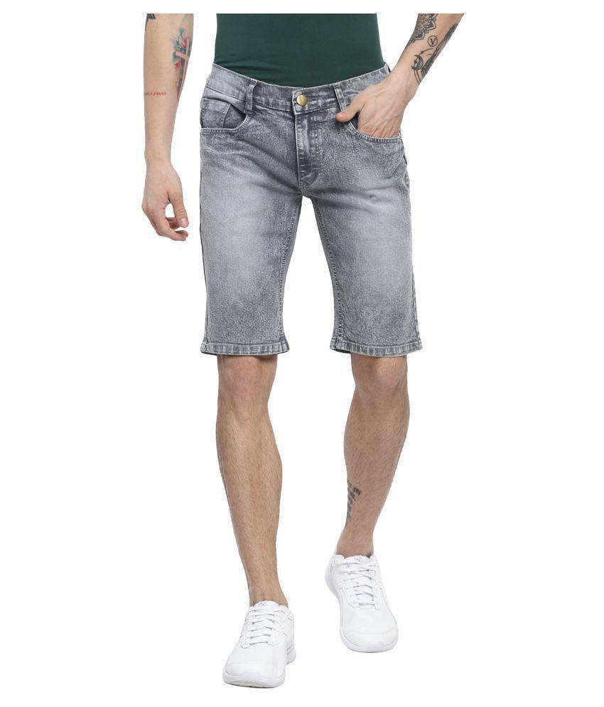 Urbano Fashion Grey Shorts