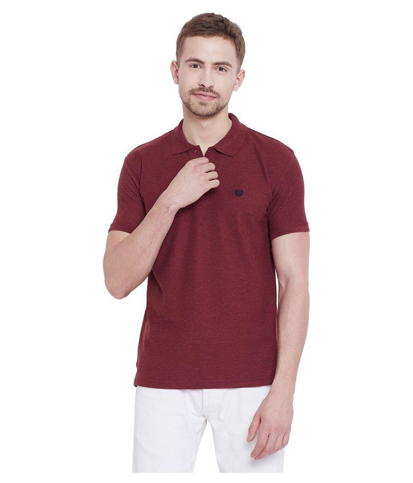 Duke Purple Regular Fit Polo T Shirt
