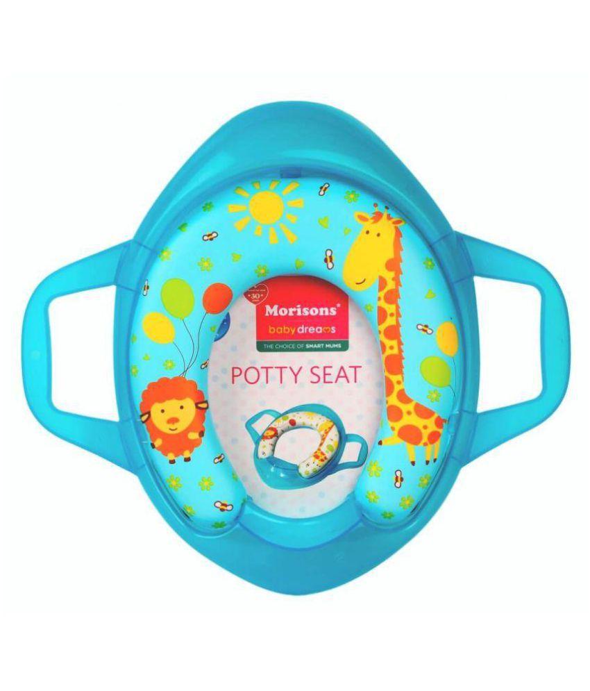 Morisons Baby Dreams Blue PVC Potty Seat