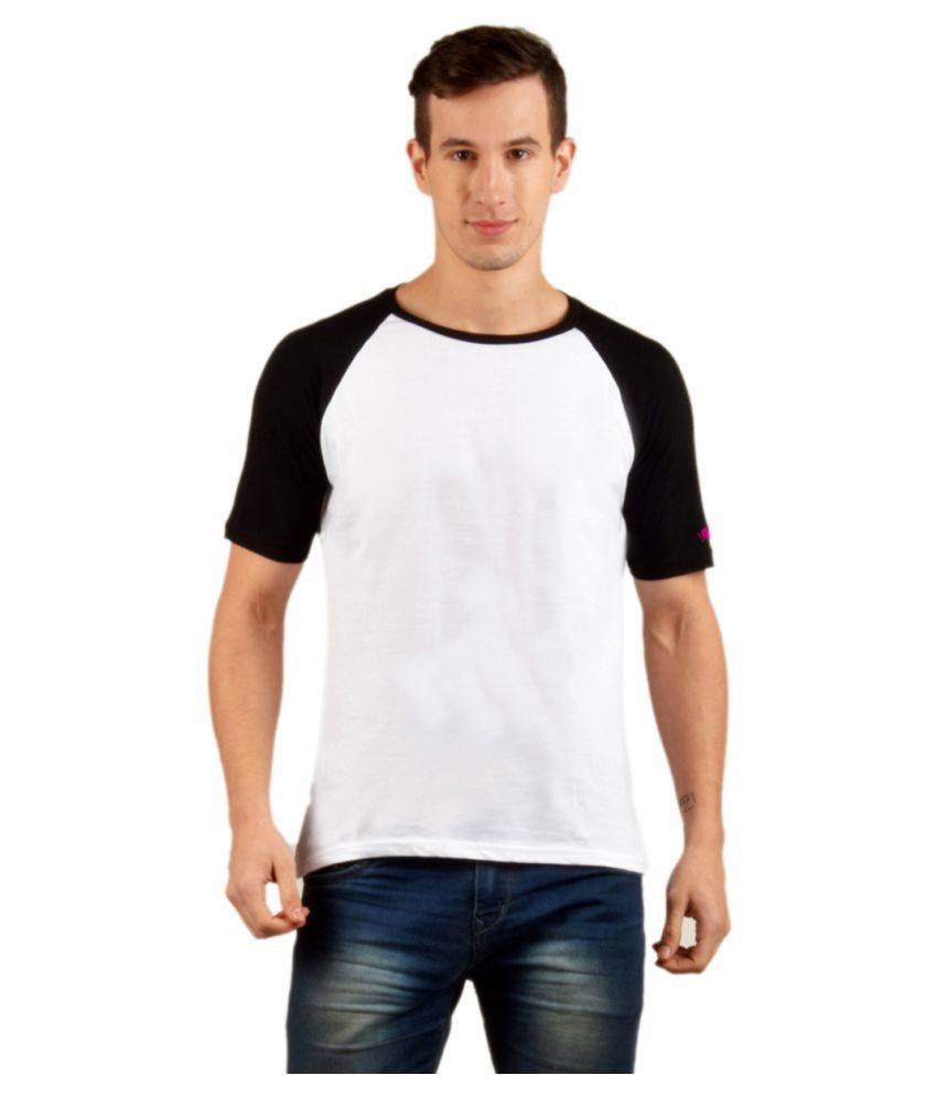PrintOctopus White Half Sleeve T-Shirt Pack of 1