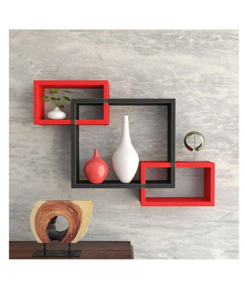 woodworld Floating Shelves Multicolour MDF - Pack of 1