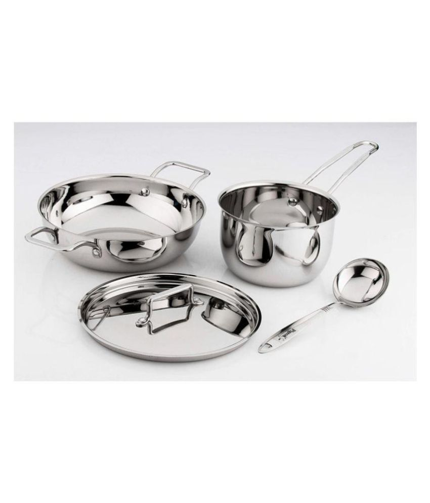 Pigeon Estilo 4pcs cookware set 4 Piece Cookware Set