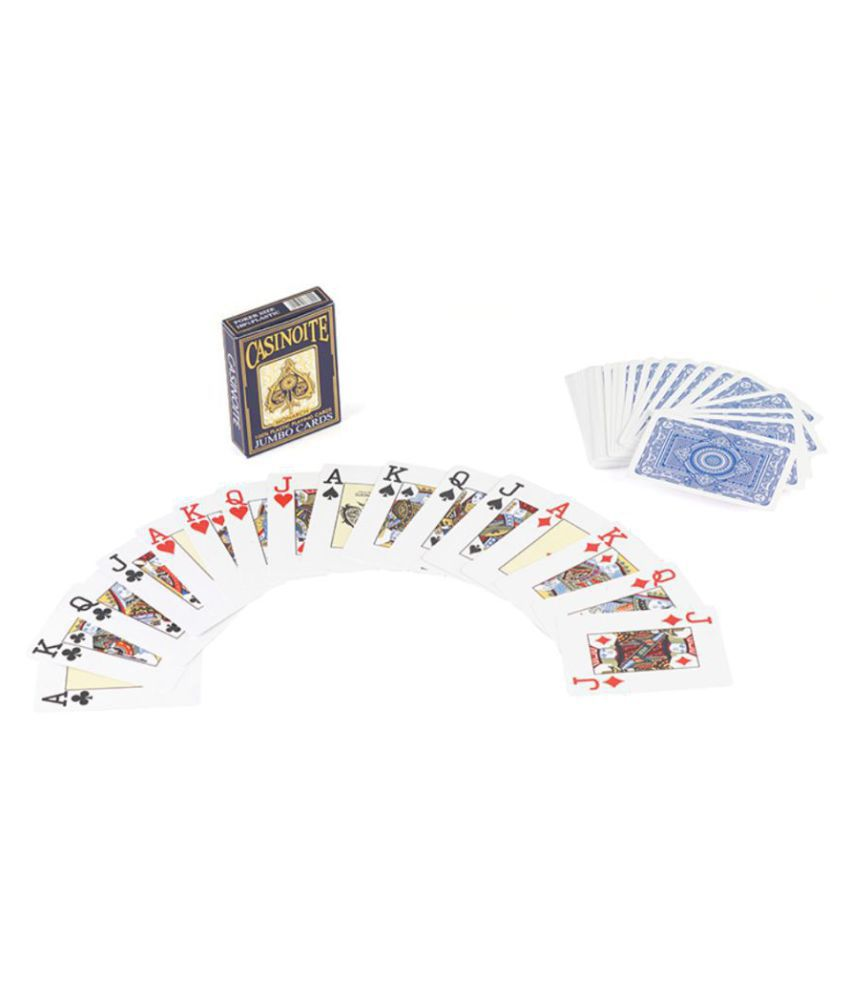 Lucky Traders Black Plastic Playing Cards: Buy Online at