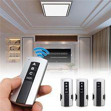 Quick View. 1 2 3 Way 220V Manual Digital Intelligent Remote Control Switch LED Lighting 220V Wireless ...