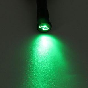 Universal 12mm LED Dash Panel Warning Pilot Light Bulb Indicator Car Boat Truck