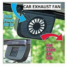 Quick View Sharnam E Mall Solar Ed Ventilation Exhaust Fan For Car