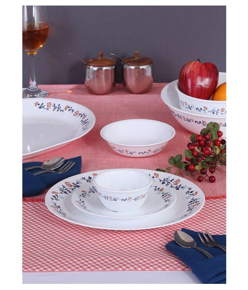 Corelle 57-VG Glass Dinner Set of 57 Pieces