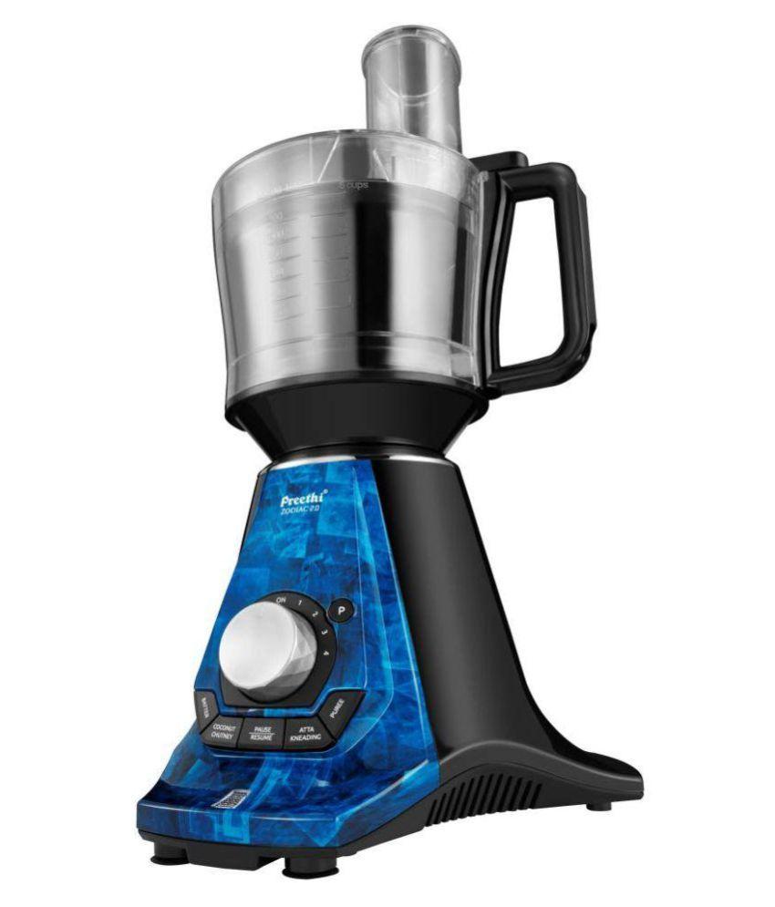 Preethi Zodiac 2 0 Mg235 750 Watt 4 Jar Juicer Mixer Grinder