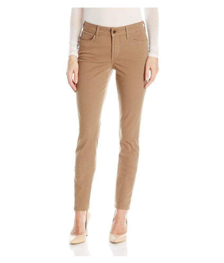 Timbre Cotton Lycra Jeans - Brown