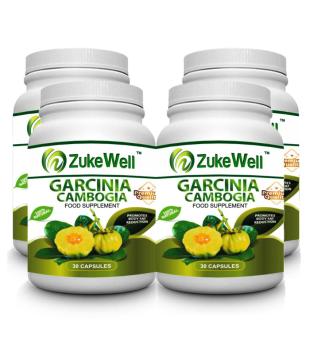 Zukewell Garcinia Cambogia Extract 500 Mg Fat Burner Capsule Pack