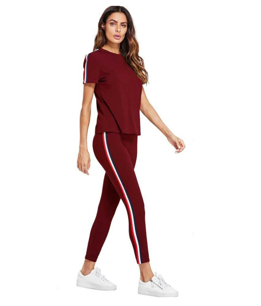 79c15cbb4da5 Buy Adidas Cotton Tracksuits - Maroon Online at Best Prices in India -  Snapdeal