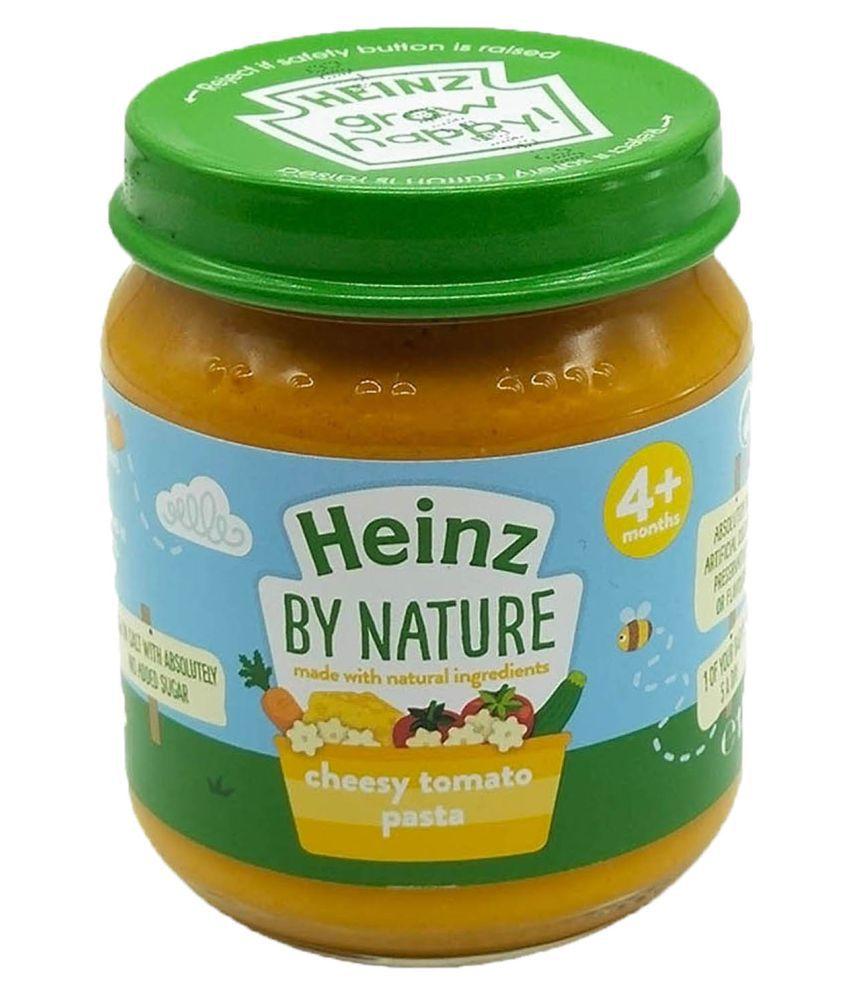 Heinz Cheesy Tomato Pasta Snack Foods for Under 6 Months ( 120 gm )
