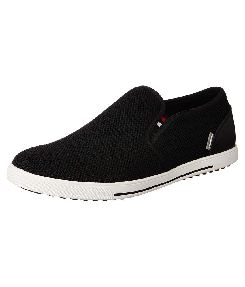 Flying Machine Lifestyle Black Casual Shoes