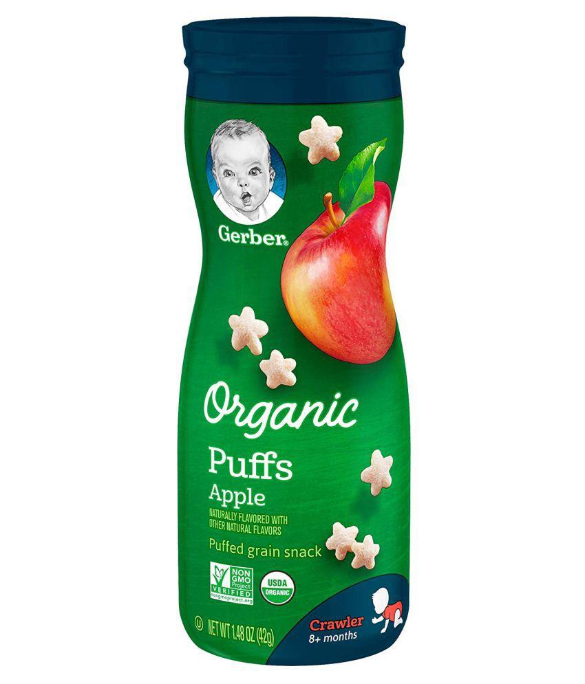 Gerber Apple Snack Foods for Under 6 Months ( 681 gm ) Pack of 3