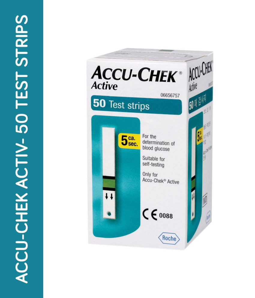 accu chek active 50 sugar test strips expiry jan 2020 buy online at rh snapdeal com at home test for a stroke