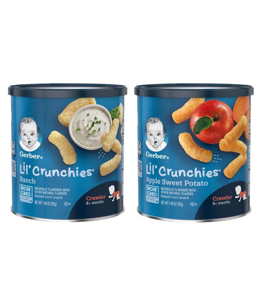Gerber ASP + Ranch Snack Foods for Under 6 Months ( 84 gm ) Pack of 2