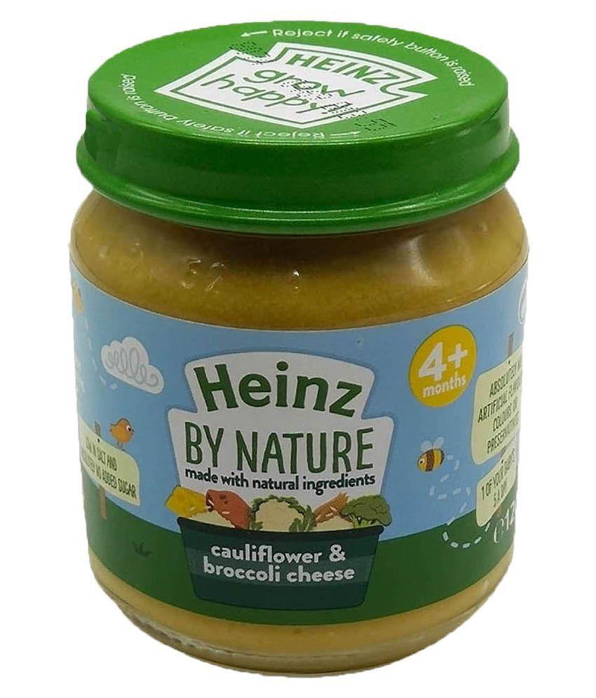 Heinz Cauliflower Broccoli Cheese Snack Foods for Under 6 Months ( 120 gm )