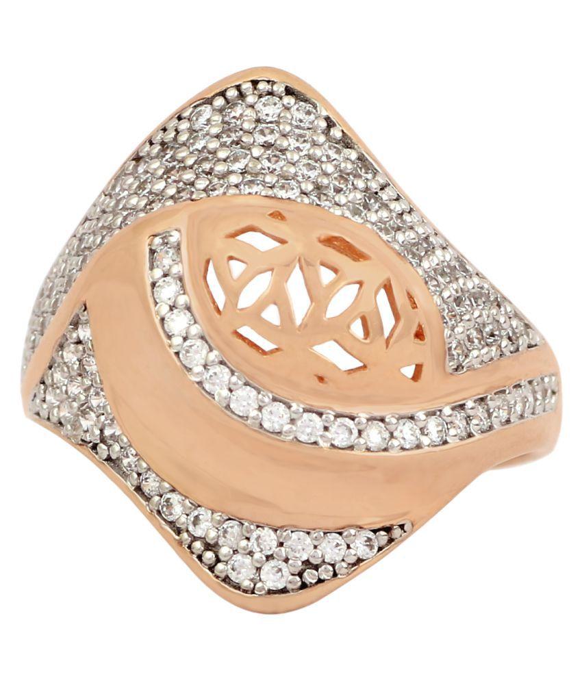 Silgo 92.5 Silver Cubic zirconia Ring