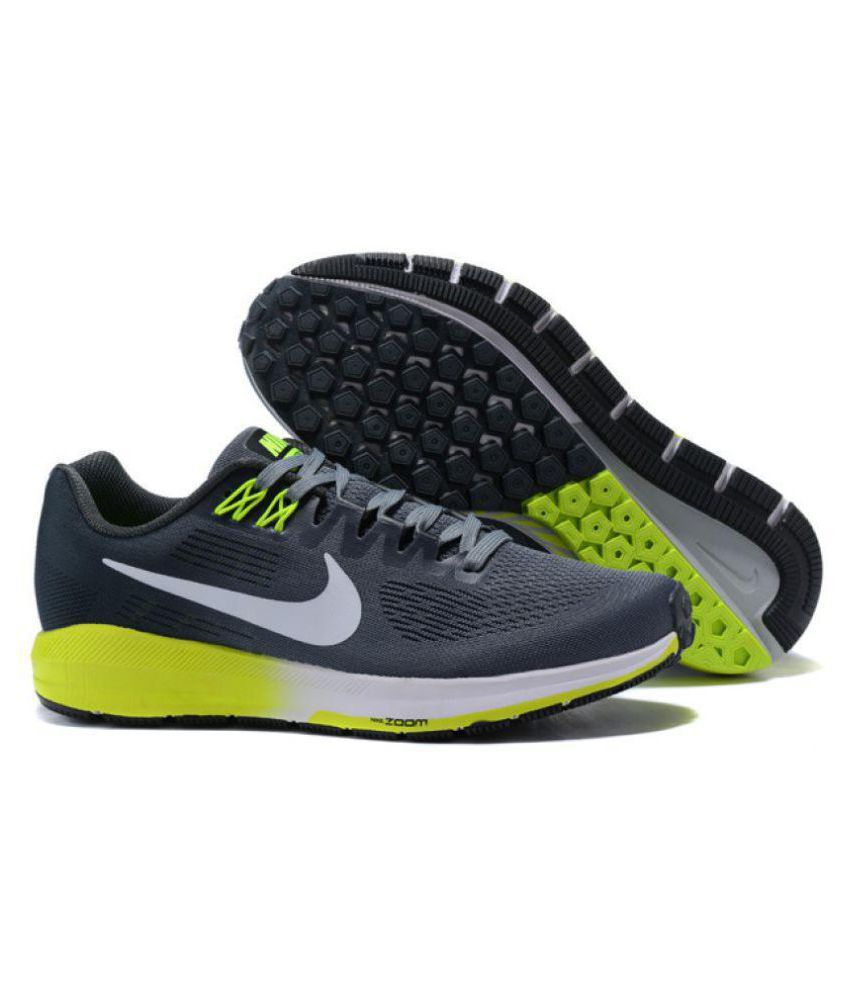 new arrival 3437a fc4e8 Nike ZOOM STRUCTURE 21 Running Shoes Gray: Buy Online at ...