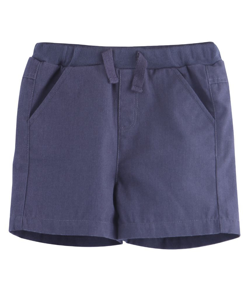 Grey Pull-Up Bermuda Shorts Grey 18-24M