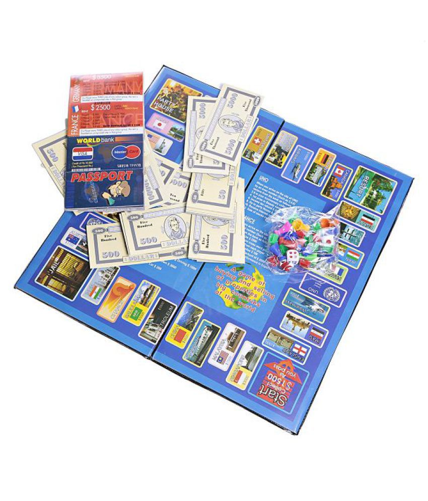 Indian Business Board Game for Kids of 5 years and above - Family board game